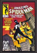 Amazing Spiderman #252 2000 Toy Biz Reprint of 1st black costume ~ HTF ~ VF+