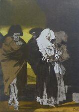 """Salvador Dali Goya los Caprichos"""" 22 Cenicitas Firmado a Mano Numerada"""