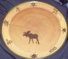 STONEWARE SPECIALTIES MOOSE DINNER PLATE PLATTER CHARGER