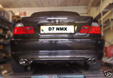 BMW E46 DUAL EXIT EXHAUST/M3 STYLE TWIN EXHAUST/318/320