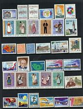 Finland #512/651 (Fi600) Complete Sets, Complete Singles, M, Most Nh,Cv$185.00