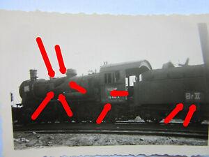 29 Fotos Russland Bryansk Deusche Reichsbahn Beute LOK Dampflokomotive 56448 Zug