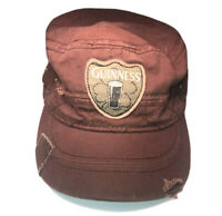 Official GUINNESS Beer Dublin 1759 Ireland Brown Cadet Cap Hat Small/Medium