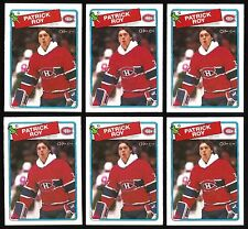 PATRICK ROY 1988-89 O-Pee-Chee #116 OPC hockey card lot of 6 MONTREAL CANADIENS