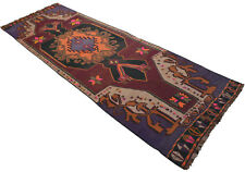 56 x 171 inches Turkish Kilim Rug Hand Woven Large Runner - Long and Wide Runner
