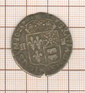 Louis XIII QUART d' écu Navarre Béarn 1625