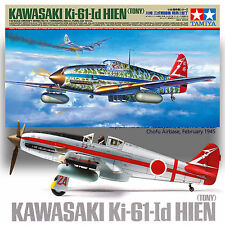 TAMIYA 1/48 KAWASAKI KI-61 1D HIEN (TONY) OPT CLEAR FUSELAGE, HA-40 ENGINE, MASK
