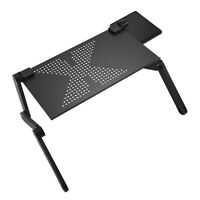 G3478 Portable Foldable Adjustable Laptop Desk Computer Table Stand Tray For Sof