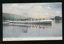 Cumbria Shipping Steamer THE SWIFT on Windermere pre1919 PPC #459 Abraham's