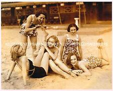 1932 PHOTO 5 RUSSIAN BALLERINAS: DANILOVA, ZORINA, RIABOUCHINSKA et al 8x10 M-DR