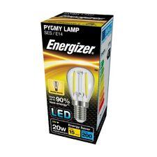 LED PYGMY Filament Light Bulb Sign/Appliance Light 2w Warm White SES E14