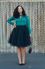 Tulle Summer Maxi Skirts Womens Tutu Pleated Skirt Dance Dresses Plus Size Skirt