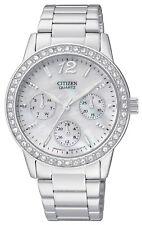 Citizen Women's Quartz Watch ED8090-53D - Mother of Pearl w/ Swarovski Crystals