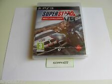 Superstars V8 Next Challenge PS3 (Playstation 3, 2010) --REGION FREE-- BRAND NEW