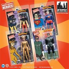 SUPER FRIENDS SERIES 4 ; 8 INCH ACTION FIGURES;  SET OF 4 MOSC NEW TOYMAN & MORE