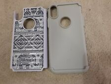 MagicSky[Shock Absorption] Studded Hybrid iphone Case Cover, Elephant.was £15.99