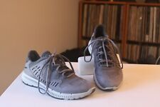 Ecco 37 Terrawalk Titanium Gray Leather Trail Running Shoes Women's US Size 6