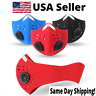 USA Outdoor Cycling Air Purifying Face Mask/Cover Haze Washable Reusable Filter