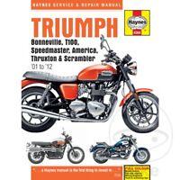 Triumph Bonneville 865 SE EFI 2009 Haynes Service Repair Manual 4364