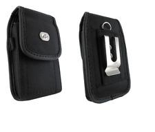 Black Canvas Case Belt Holster w Clip/Loop for Verizon Jetpack MiFi 77