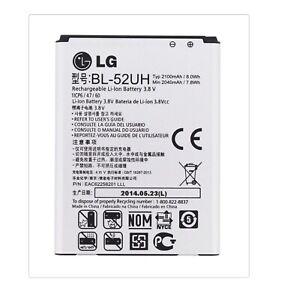 Genuine LG BL-52UH BATTERY For OPTIMUS L65 D280, L70 D320,L70 DUAL D325 /2100mAh