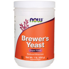 NOW Foods Brewer's Yeast 1 lb (454 g) Pwdr