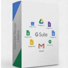 2021 Version - Unlimited Lifetime Google Drive Storage in Cloud/ Livrée en 24H