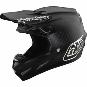Troy Lee Designs SE4 Carbon Midnight Helmet