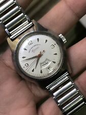 Vintage West End Watch CO Sowar Manual Winding Rare Arabic Date And Month