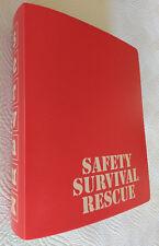 SERVICE AUXILIAIRE de L'ARMEMENT~SAFETY-SURVIVAL-RESCUE~CATALOGUE SERVAUX