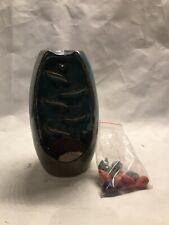Ceramic waterfall incense burner+10 incense cones