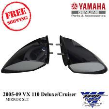 Yamaha OEM PWC WaveRunner LH & RH Mirror Set 2005-2009 VX 110 Deluxe/Cruiser