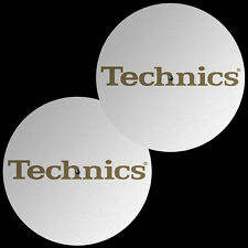 Slipmats Technics DMC Gold Foil Weiß / White (1 Paar / 1 Pair) MTW