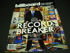 CLIVE DAVIS 2013 BB cover PROMO AD Earth Wind Fire GRATEFUL DEAD Kinks WHITNEY +