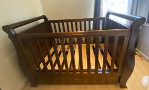Boori Country Collection Sleigh Cotbed / Cot