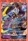 Lunala GX 250pv 66/149 Soleil et Lune Carte Pokemon Ultra Rare neuve FR