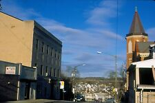 historic structures-Downtown scene @ Slatington Pa.Fuji slide