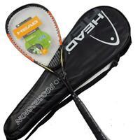 Unisex HEAD Composite Carbon Squash Racket Rackets Sport Training raquete de ...