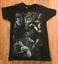 """Hot Topic: True Blood """"CRACKED"""" T-Shirt Black Men's Size Small S HBO"""