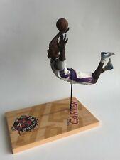 "Vintage Mcfarlane Toys 2002 NBA Dunking Vince Carter #15 Toronto Raptors 12"""