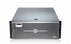 DELL POWEREDGE R900 SERVER 4 Six CORE XEON X7460 128GB RAID PERC Two PS