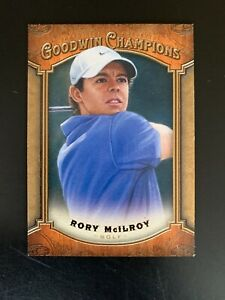 RORY McILROY - #74  - 2014 Upper Deck Goodwin Champions