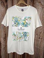 Element Skateboard Men's T-Shirt Palm Size Large Short Sleeve Top