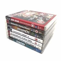 7x Video Game Bundle | PlayStation 3 (PS3) | Sony | PAL