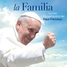 Familia la Voz y Pensamientos Del Papa Francisco [New CD]