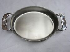 All-Clad 7 inch Stainless Steel Gratin Oval Shaped Baker Specialty Cookware NEW