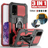 Case For Motorola Moto G9 Play E7 G9 Plus G8 Power Armor Shockproof Stand Cover