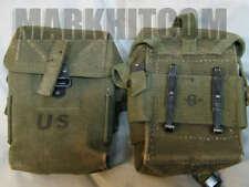 VIETNAM US M1956 M56 small universal canvas 2nd pattern Long pouch date 1968