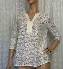 CAPTURE SIZE 14 COTTON BLEND LACE TOP