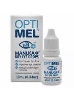 2x Optimel Manuka Chronic Dry Eye Drops Soothes Sore Irritated Eyes Blepharitis